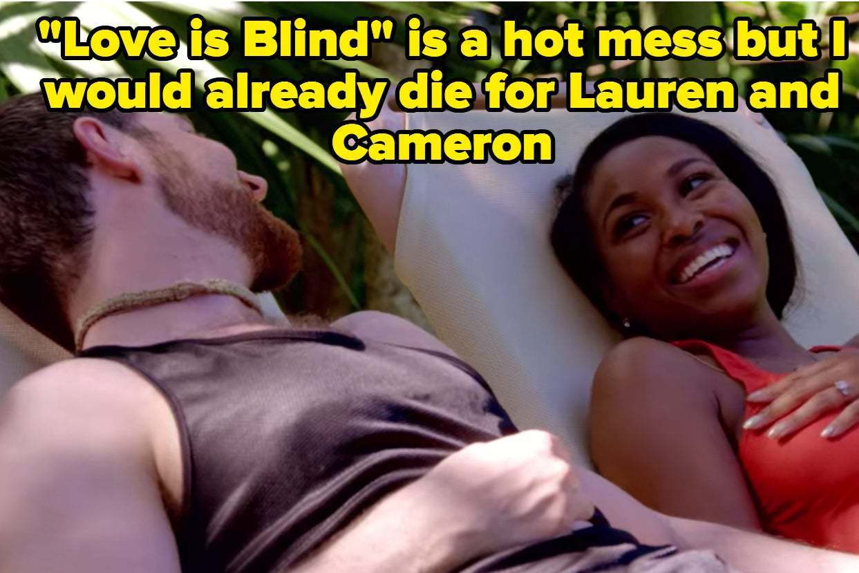 "27 ""Love Is Blind"" Tweets For Lauren And Cameron Fans"