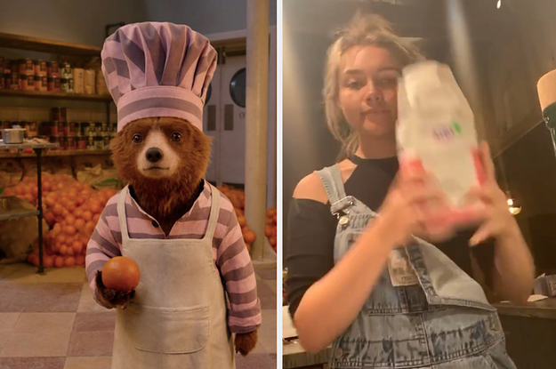 Florence Pugh Made Marmalade For The First Time, And Now Paddington Wants To Hang Out