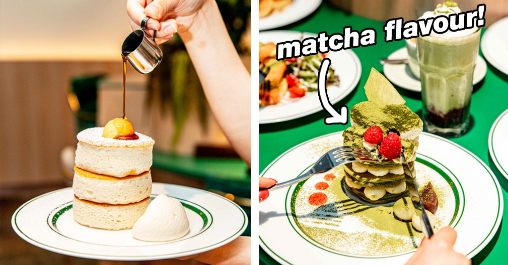 A Famous Japanese Soufflé Pancake Store Has Opened In Sydney And I'm Already Drooling