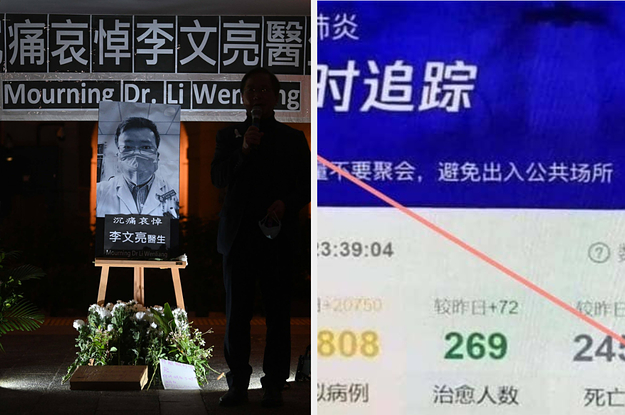 As Chinese Internet Users Try To Track The Coronavirus, Their Government Is Tracking Them