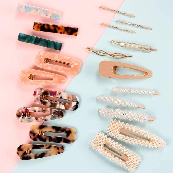 the hair clips