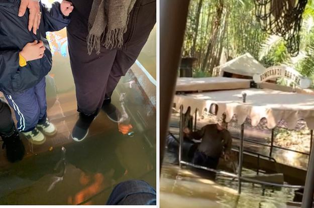 A Jungle Cruise Boat Sank Into Murky Waters At Disney's Magic Kingdom