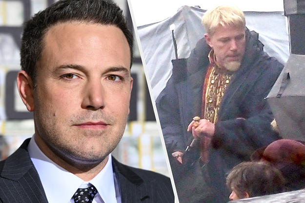 Ben Affleck Is A Platinum Blonde Now And I Don't Know How To Feel About It