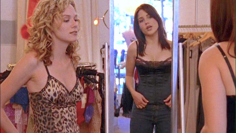 v neck lace trimmed corsets, one dark and one in leopard print