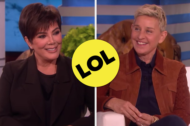 "Kris Jenner Said Kourtney Kardashian Has Returned To ""KUWTK"" And Ellen Joked That It's Because Of Money"