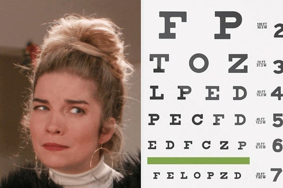 """""""Only People Who Can See Blue REALLY Well Can Read These Words"""" And 11 More Vision Quizzes"""