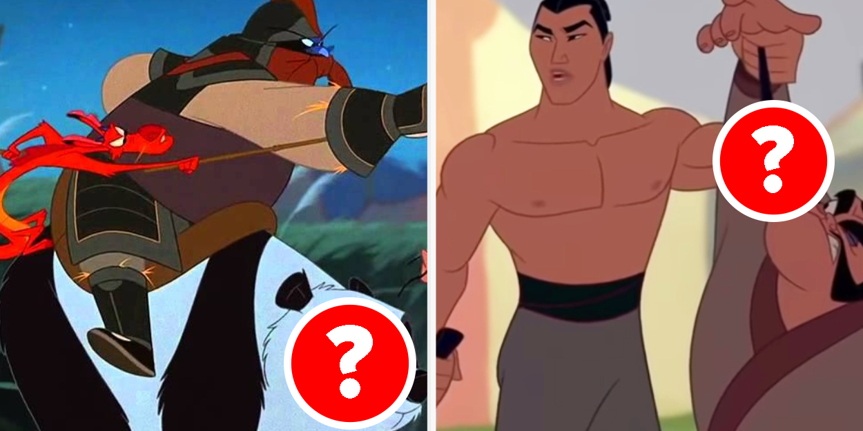 """Only Someone Who's Seen """"Mulan"""" At Least 3 Times Can Pass This Quiz"""