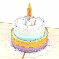 birthday cake lovepop card