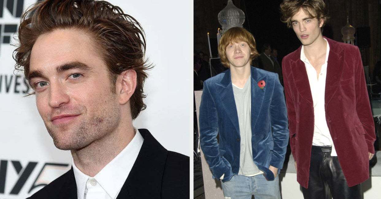 """Robert Pattinson Made Fun Of His """"Harry Potter"""" Premiere Outfit, And Holy Leather Pants, It's A Lot"""