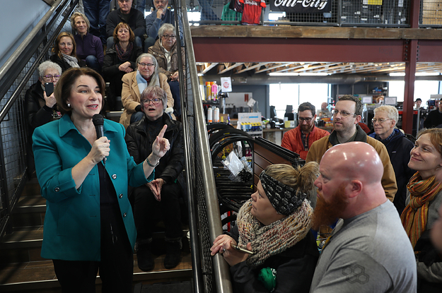 Amy Klobuchar Is Promising Iowa Voters Electability — But Has Almost No Black Support