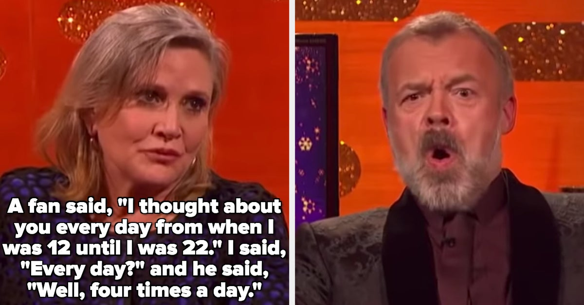 "18 Times Famous People Did Whatever The Hell They Wanted On ""The Graham Norton Show"""