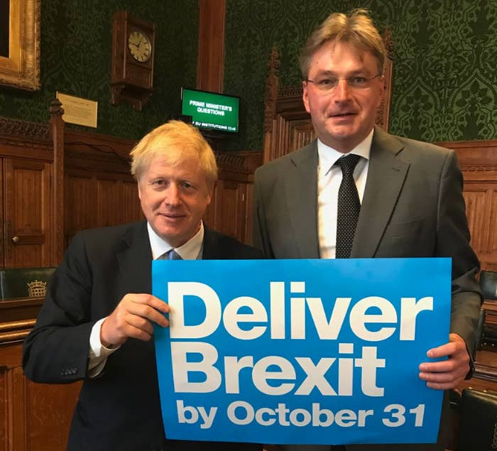 Daniel Kawczynski with Boris Johnson.