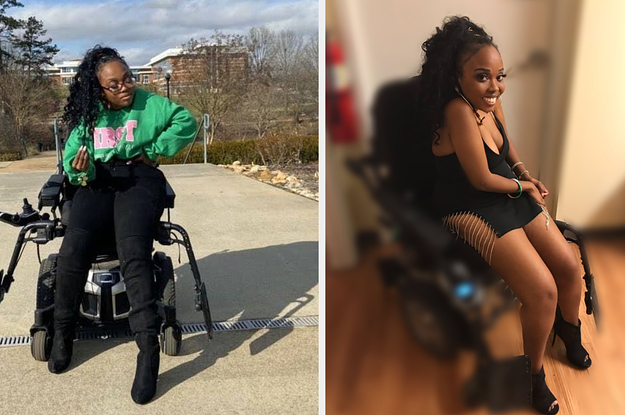 A Woman With A Rare Disability Said She Was Nervous To Post Sexy Photos Because Of Comments. Then She Began Reading The Comments.
