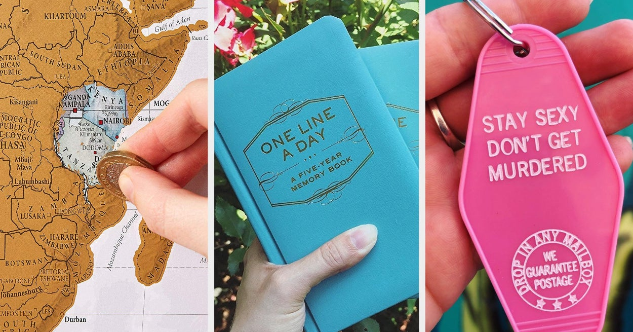 """24 Birthday Gift Ideas For The Friend Who Always Says, """"Don't Get Me Anything"""""""
