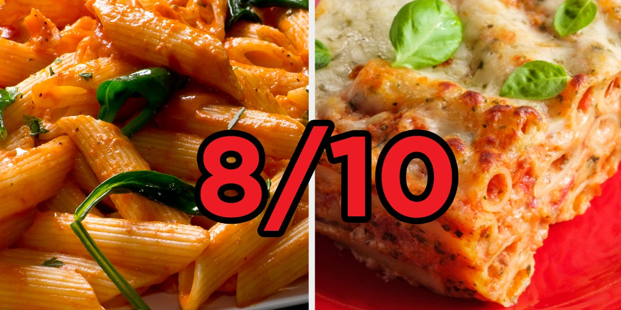 Only A Pasta Snob Can Score 8/10 On This Quiz