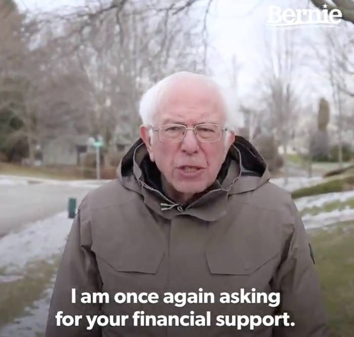 """The Bernie Sanders """"I Am Once Again Asking"""" Meme: Everything You ..."""