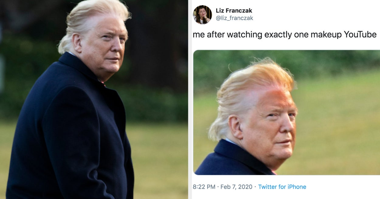 The Photographer Who Took That Unflattering Photo Of Trump Said It Wasn't Photoshopped