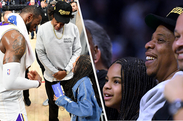 Blue Ivy Got Starstruck Meeting LeBron James And It's The Cutest Thing I've Seen Today
