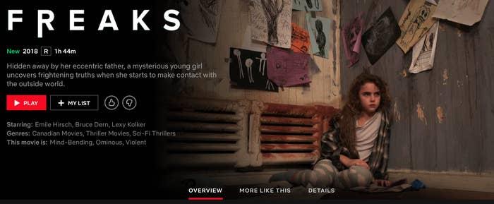 Netflix Freaks