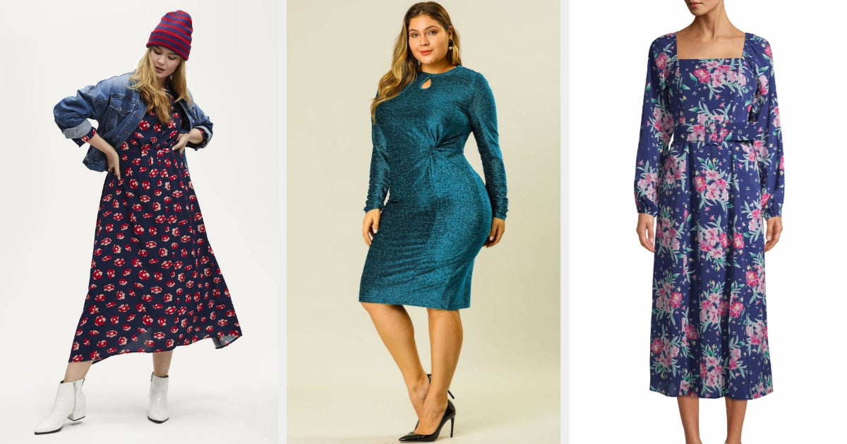 31 Stylish Dresses From Walmart That You Can Wear All Year thumbnail