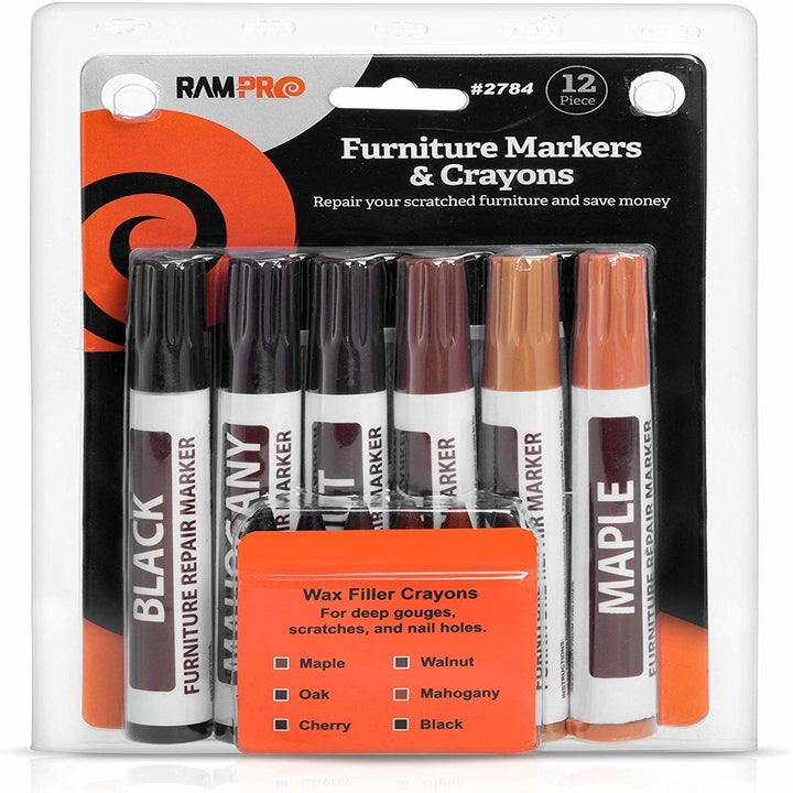 Markers in several different shades of brown