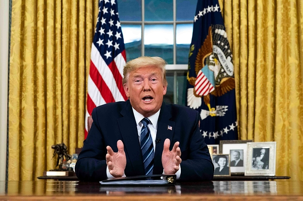 European Diplomats Are In Utter Disbelief Over Donald Trump's Coronavirus Travel Ban