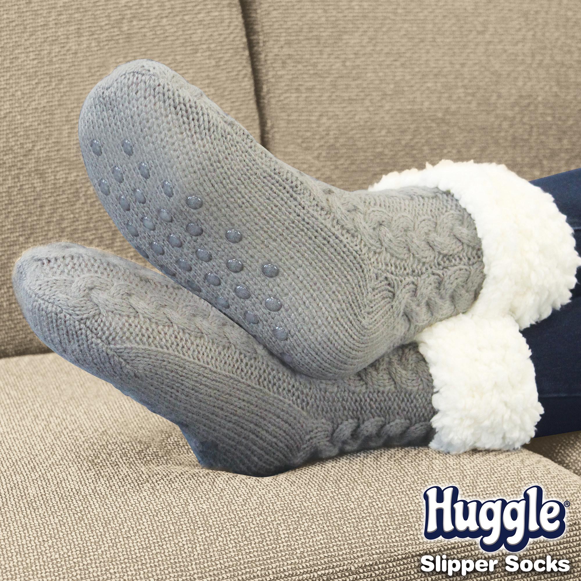 The slipper socks with bottom grips