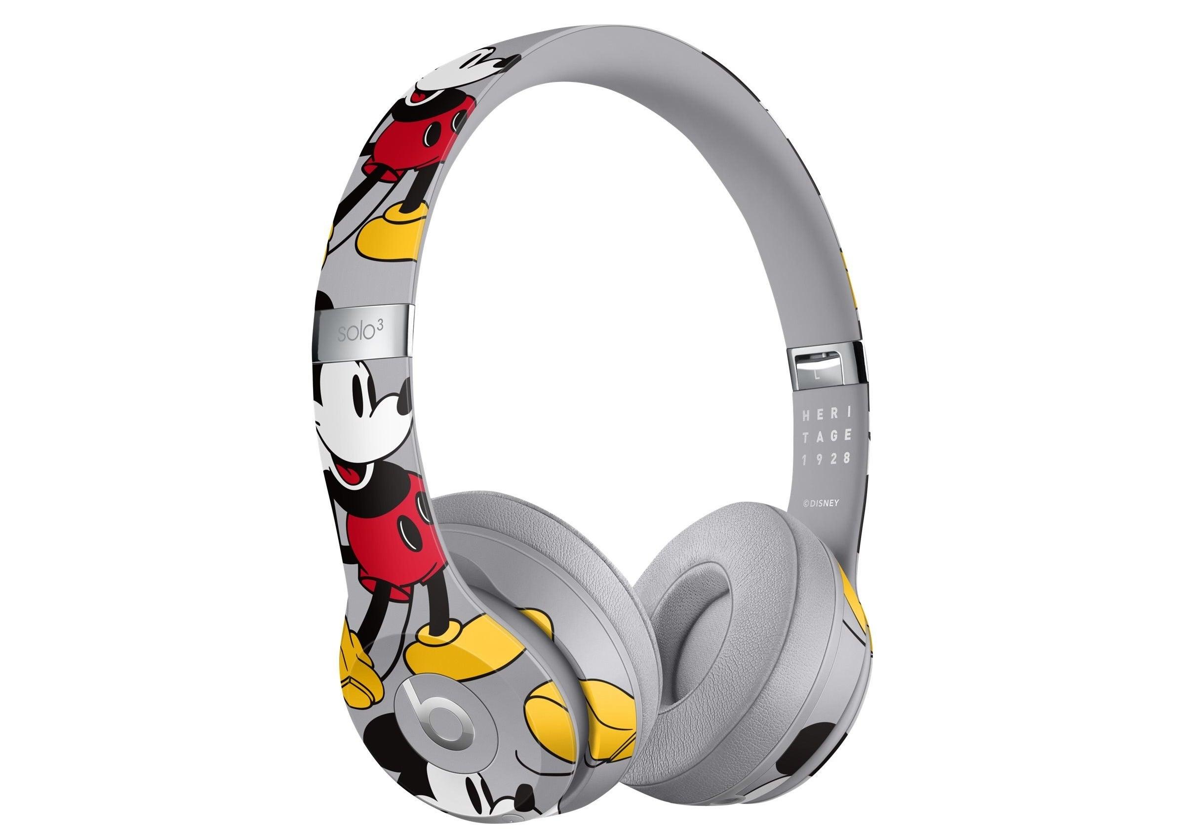 The Disney Mickey headphones