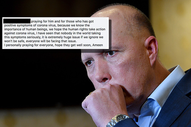 Refugees Are Praying For Peter Dutton's Recovery From The Coronavirus