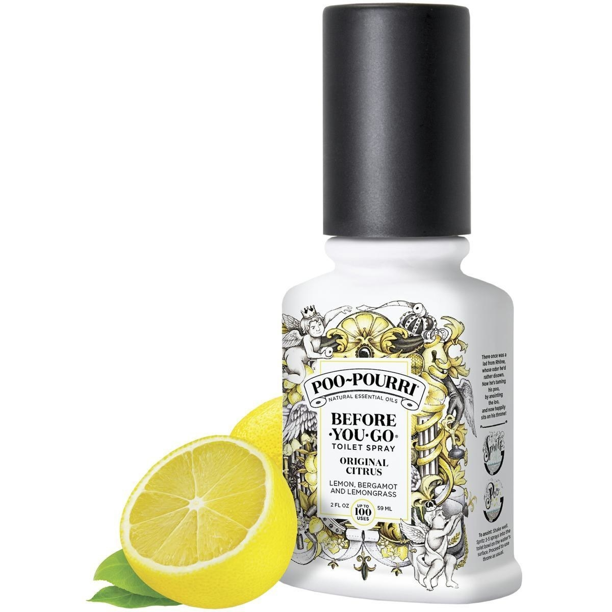 An image of a bottle of Poo-Pourri