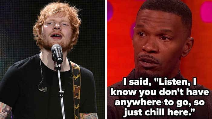 """Jamie Foxx on Graham Norton: """"I said: 'Listen, I know you don't have anywhere to go, so just chill here.'"""""""