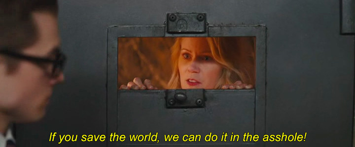 蒂尔德公主:;如果你拯救了世界,我们就可以在这个混蛋身上做到&引用;