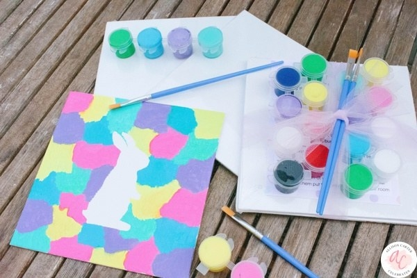 an Easter-themed craft activity