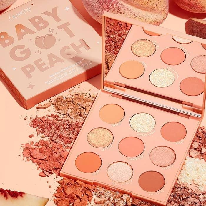 the peach palette
