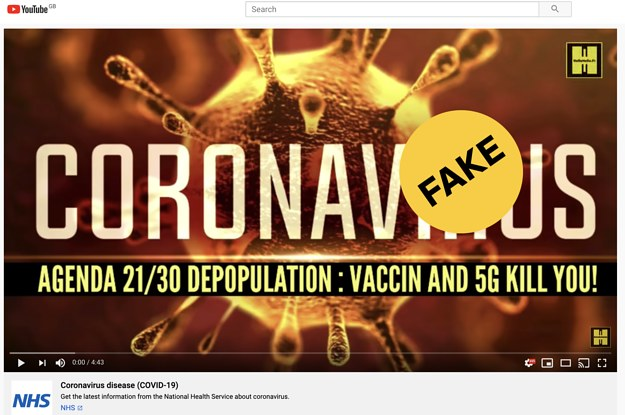 YouTube Is Letting Millions Of People Watch Videos Promoting Misinformation About The Coronavirus