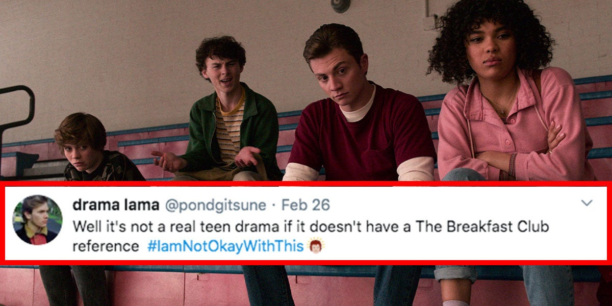 """25 """"I Am Not Okay With This"""" Tweets That Prove It's A Must-See Netflix Show"""