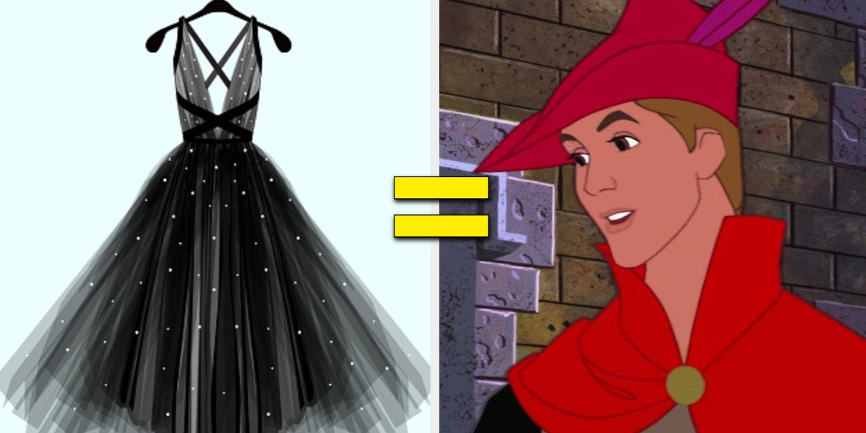Design A Prom Dress And We'll Reveal Which Disney Prince Will Be Your Date