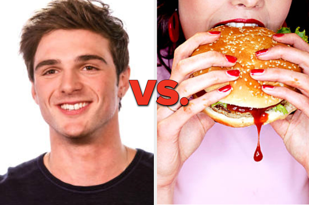 "I Dare You To Take This Hot Guys Vs. Food ""Would You Rather"""