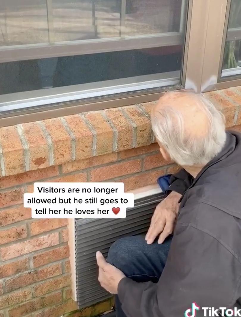 Man Breaks Down in Tears in Viral TikTok When Wife Gifts