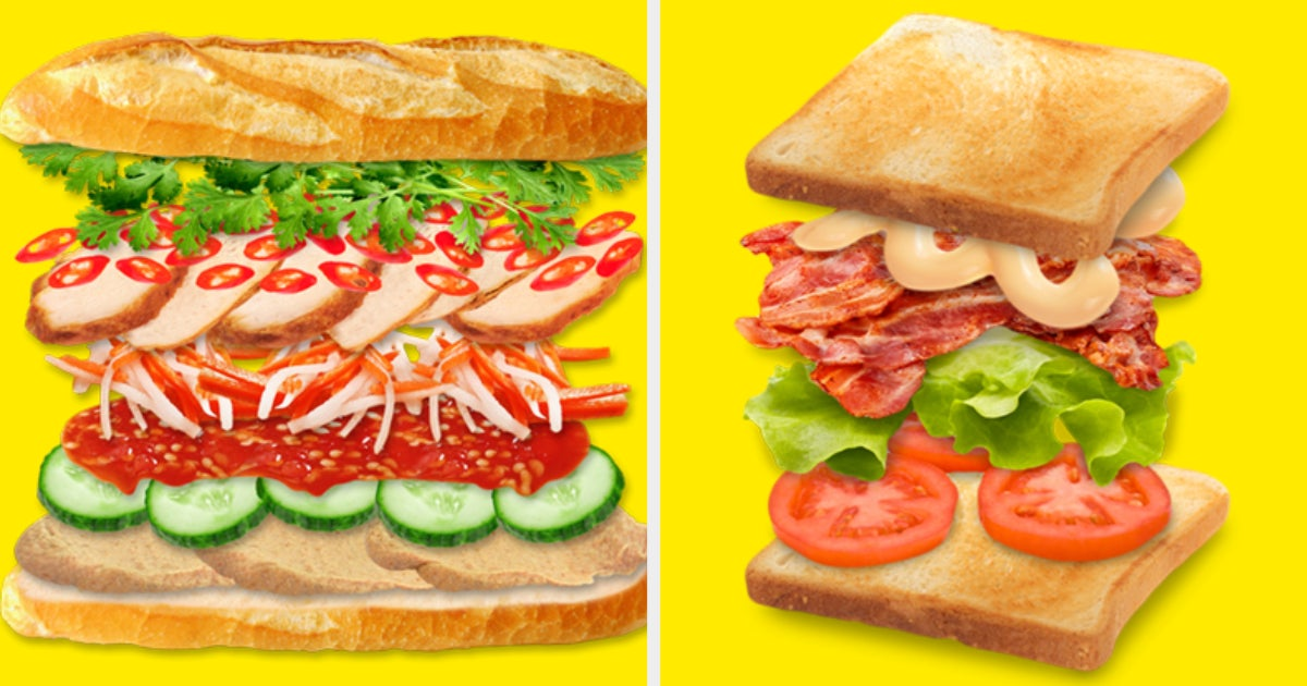 How Many Types Of Sandwiches Can You Identify?
