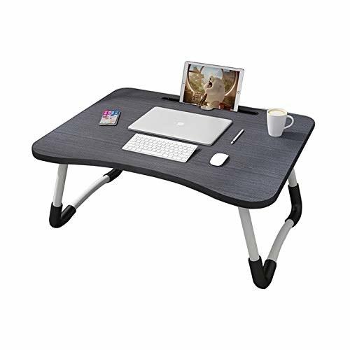 A foldable laptop desk