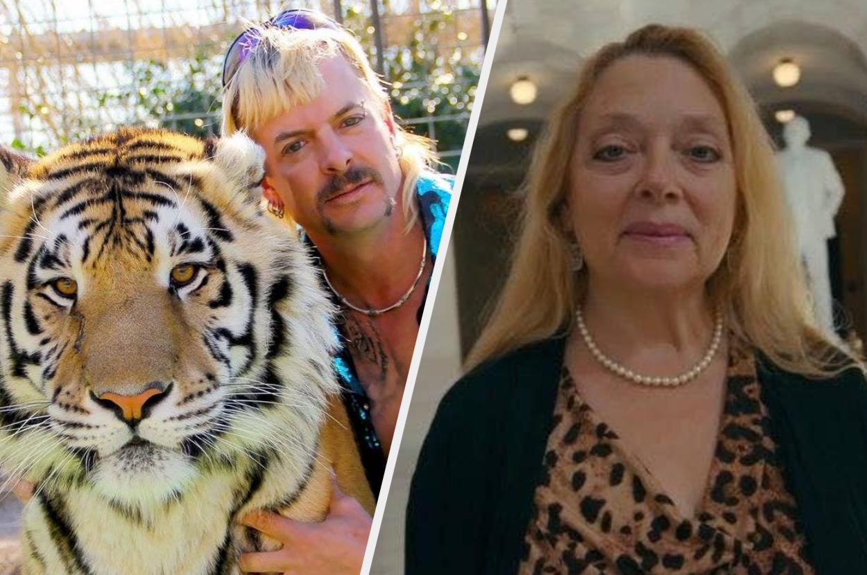 "Carole Baskin From Netflix's ""Tiger King"" Said The"