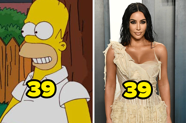 These Celebs And Cartoon Characters Are Supposed To Be The Same Age