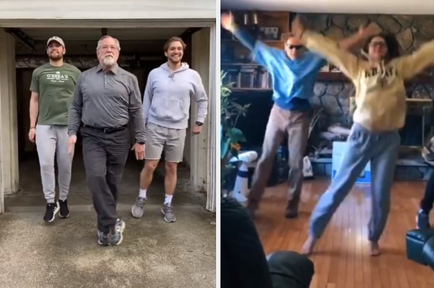 People Stuck At Home Are Making Their Parents Do This Tiktok Dance