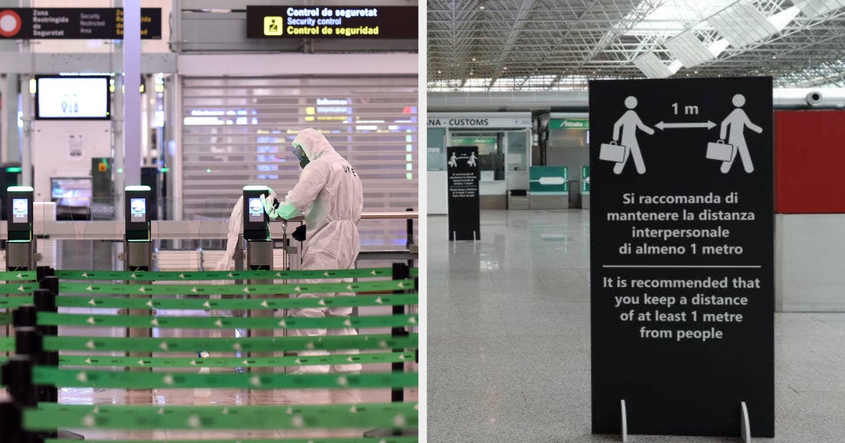 These Photos Show Just How Empty Airports Are Right Now