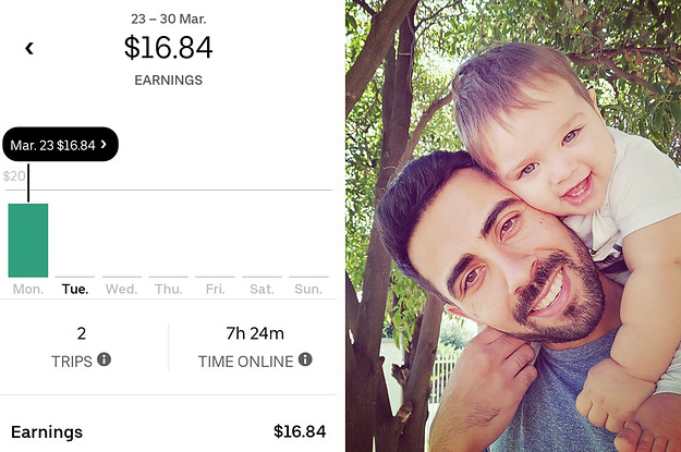 This Dad Earned $16.84 This Week. He Can't Get The Coronavirus Welfare Payment.