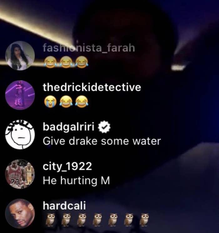 Rihanna Hilariously Roasts Drake On Instagram Live