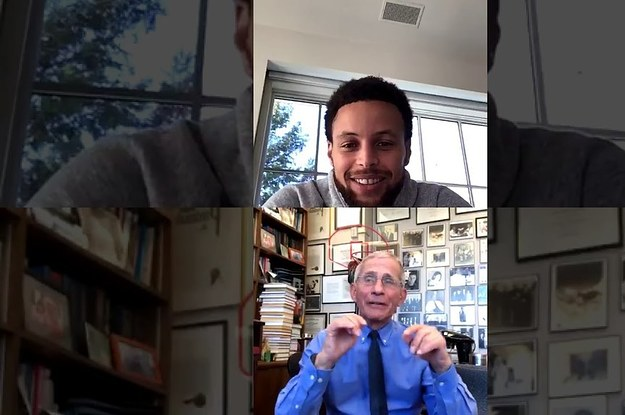 Steph Curry Had An Instagram Live Chat With Dr. Fauci About Coronavirus That Was Super Informative