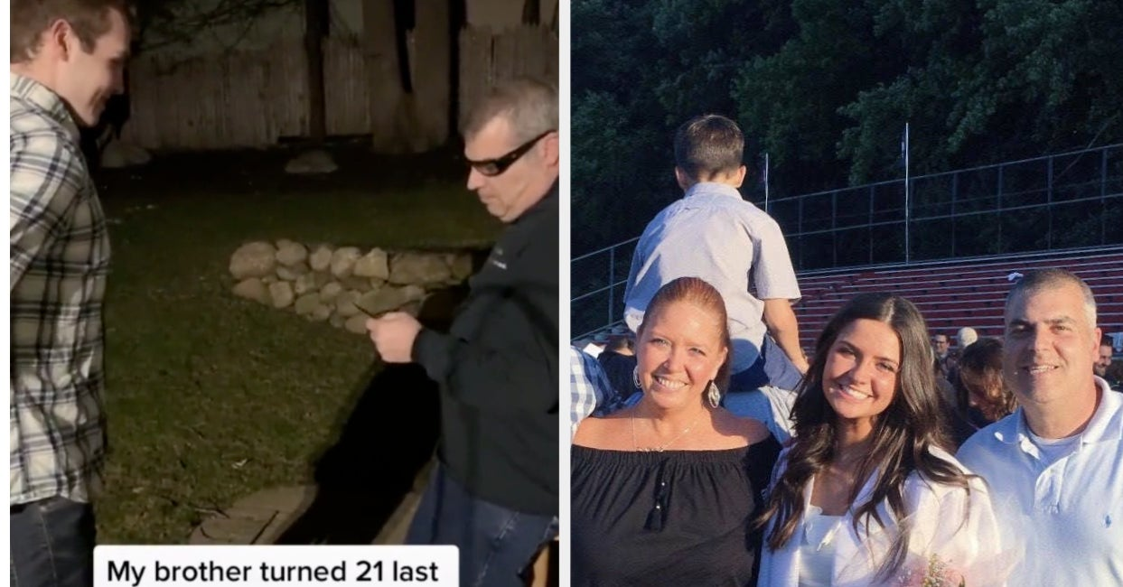 A Teen's Family Turned Their Garage Into A Club During Quarantine So Her Brother Could Celebrate Turning 21