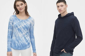 Gap's Up To 60% Off Everything Sale Is Here For Your WFH Wardrobe
